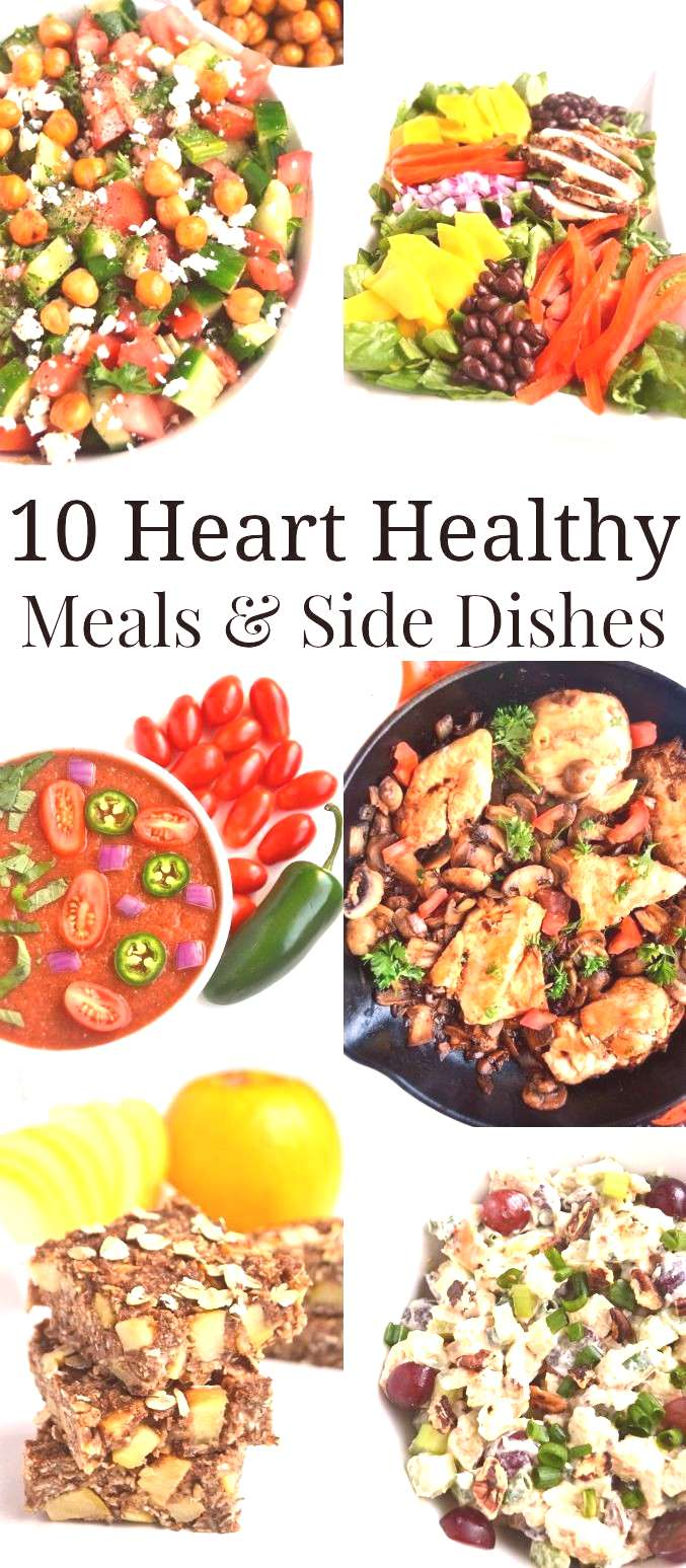 10 Heart Healthy Meals and Side Dishes