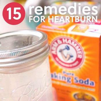 15 Natural Remedies for Heartburn & Severe Acid Reflux | Everyday Roots - Just tried the 1/2 tsp of