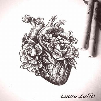 maybe a modern design of half of an anatomical heart for secondary logo/design e