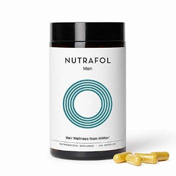 Nutrafol Mens Hair Growth Supplement for Thicker, Stronger