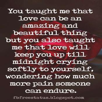 Quotes About Being Heartbroken with Images