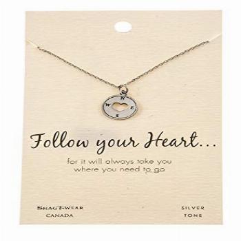 Shag Wear Friendship and Love Inspirations Quote Pendant
