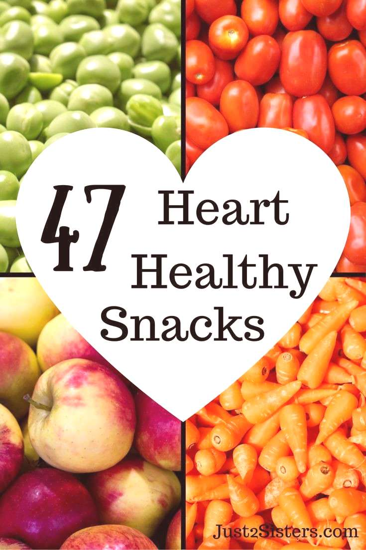 47 Heart healthy snacks a gift for your heart! AD