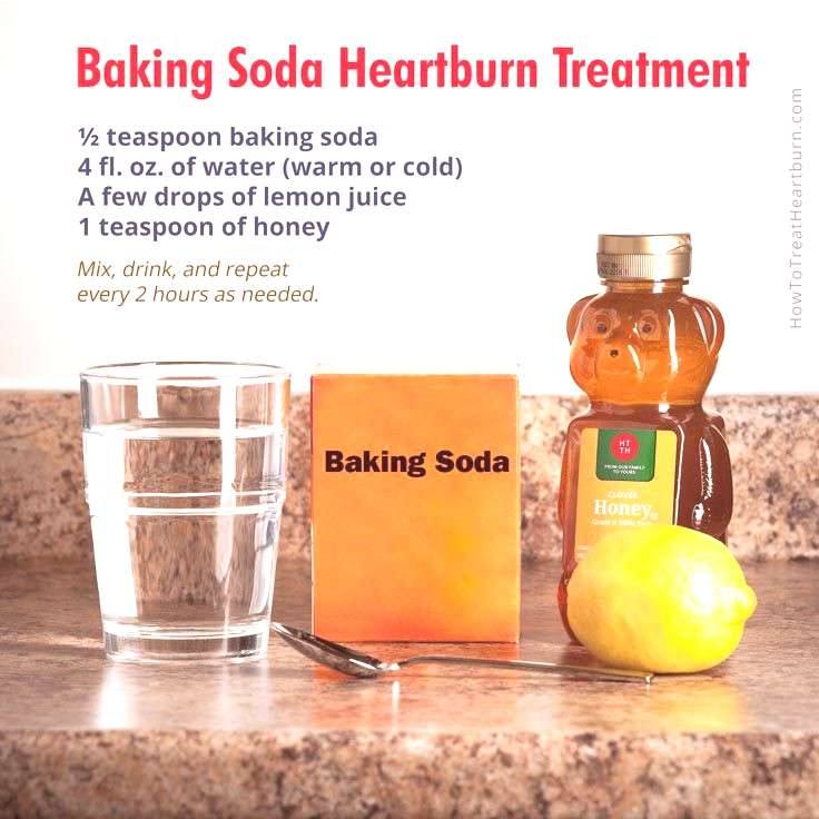 Baking soda is a low cost antacid for treatment of heartburn and acid reflux. Here are 4 ways of pr