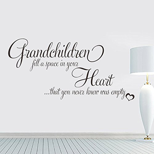 Hi-Shop Grandchildren Fill a Space in Your Heart Quote