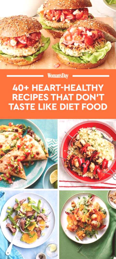 Save these heart-healthy dinner recipes for later by pinning this image, and follow Woman's Day on