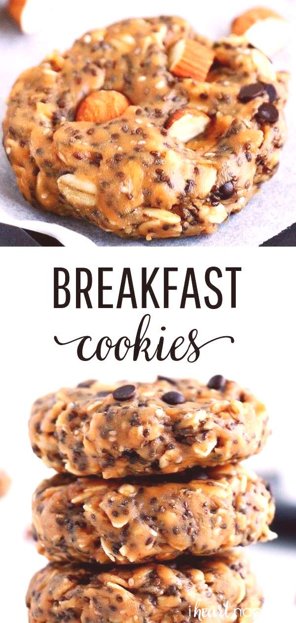 These No-Bake Breakfast Cookies are easy to make, healthy, packed with protein and simply delicious